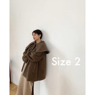 【新品】CLANE クラネ / BIG COLLAR FLARE COAT(その他)