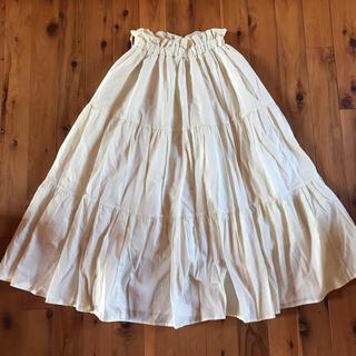 ナイスクラップ(NICE CLAUP)のナイスクラップ ふんわりロングスカート 新品タグ付き(ロングスカート)