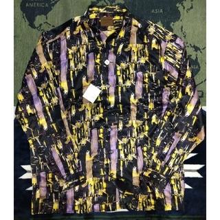 ロートレアモン(LAUTREAMONT)の特別価格最終限界値下げ即決をロートレアモンメンズ(プリントドレスシャツ)(シャツ)