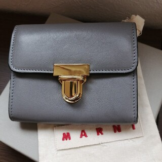 マルニ(Marni)の【いな 様専用】MARNI ミニウォレット 財布 コンパクト 新品 同様(財布)