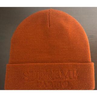 シュプリーム(Supreme)の19ss supreme tonal logo Beanie brown(ニット帽/ビーニー)
