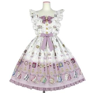 アンジェリックプリティー(Angelic Pretty)のRose Tea Garden jsk ローズティーガーデン(ひざ丈ワンピース)