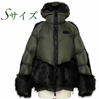 サカイ(sacai)のNIKE SACAI ダウンジャケット Sサイズ(ダウンジャケット)