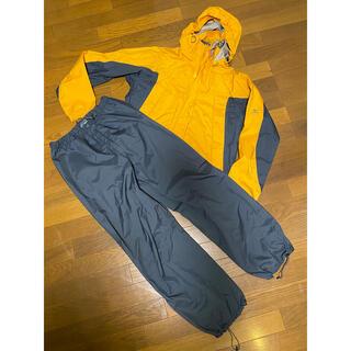 ミズノ(MIZUNO)のミズノ レインスーツ Mサイズ(登山用品)