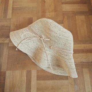 ムジルシリョウヒン(MUJI (無印良品))の無印*麦わら帽子(麦わら帽子/ストローハット)