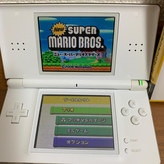 ニンテンドーDS(ニンテンドーDS)のDS 本体&スーパーマリオブラザーズ まとめてセット(携帯用ゲームソフト)