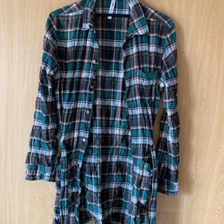 グラム(glamb)のglamb チェックロングシャツ(シャツ)