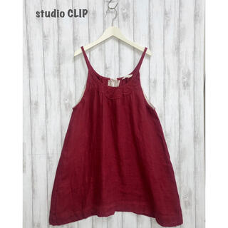 スタディオクリップ(STUDIO CLIP)の【studio CLIP】リネンチュニックワンピース スタディオクリップ(チュニック)