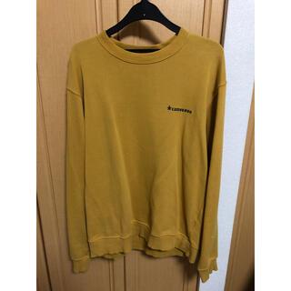 コンバース(CONVERSE)のスウェット トレーナー コンバース 黄色(トレーナー/スウェット)