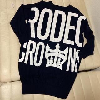 ロデオクラウンズ(RODEO CROWNS)の超美品 ロデオクラウンズ ロング丈ニット 早いもの勝ち!(ニット/セーター)