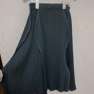 イッセイミヤケ(ISSEY MIYAKE)のイッセイミヤケ プリーツプリーズスカート(ひざ丈スカート)