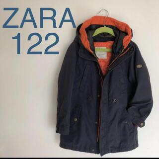 ザラキッズ(ZARA KIDS)のZARA ザラ キッズ 2wayアウター モッズコート ブルゾン 120(コート)
