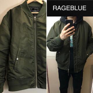 レイジブルー(RAGEBLUE)のRAGEBLUEフライトジャケットMA-1中綿ブルゾンメンズMA1(フライトジャケット)