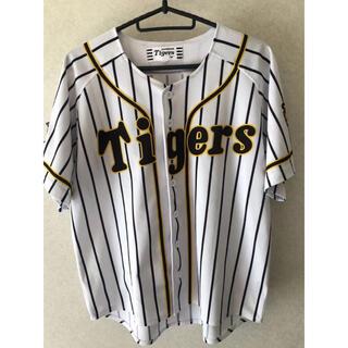 ハンシンタイガース(阪神タイガース)の[ミズノ]Tigersプリントユニフォーム タイガースユニフォーム (ウェア)