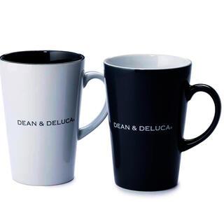ディーンアンドデルーカ(DEAN & DELUCA)のDEAN & DELUCA ラテマグ Black  & White  (L)(グラス/カップ)