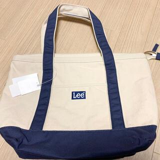 リー(Lee)の【新品】Lee トートバッグ ネイビー(トートバッグ)