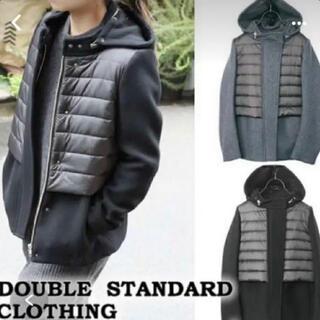 ダブルスタンダードクロージング(DOUBLE STANDARD CLOTHING)のDOUBLE STANDARD CLOTHING ウール切替 コート(ダウンコート)