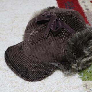 ドットアンドストライプスチャイルドウーマン(Dot&Stripes CHILDWOMAN)のパイロット帽(キャップ)