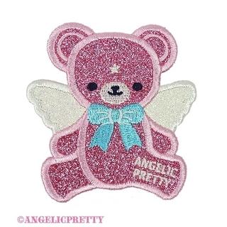 アンジェリックプリティー(Angelic Pretty)の【Angelic Pretty】Milkyベアークリップ〈ピンク〉(バレッタ/ヘアクリップ)
