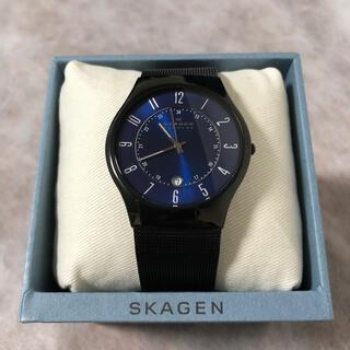 スカーゲン(SKAGEN)の【SKAGEN】腕時計 ブルー×ブラック(腕時計(アナログ))