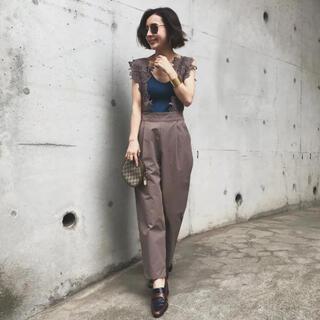 Ameri VINTAGE - ameri motif lace pants