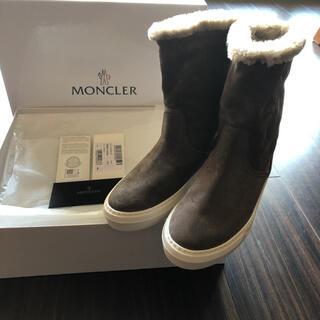 モンクレール(MONCLER)の新品 モンクレール ブーツ サイズ37(ブーツ)