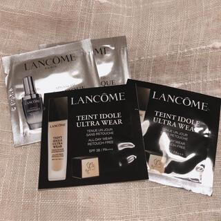 LANCOME - 【LANCOME】サンプル4点セット 美容液 ファンデ ランコム