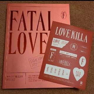 MONSTA X Fatal love ver.2(アイドルグッズ)