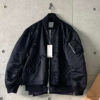 サカイ(sacai)のsacai Fabric Combo MA-1(フライトジャケット)