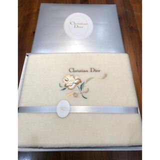 クリスチャンディオール(Christian Dior)の新品 Christian Dior ボアシーツ シングルサイズ(シーツ/カバー)