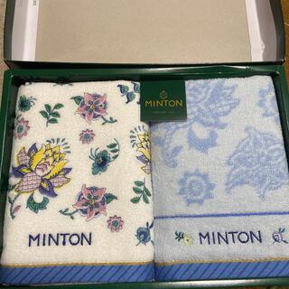 ミントン(MINTON)のミントンMINTON   フェイスタオル2枚(タオル/バス用品)