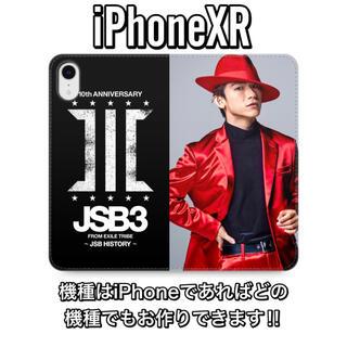 サンダイメジェイソウルブラザーズ(三代目 J Soul Brothers)のNAOTO iPhoneXR 手帳型ケース(iPhoneケース)