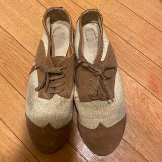 アダムエロぺ(Adam et Rope')のアダムエロペ購入‼︎マニッシュシューズ(ローファー/革靴)
