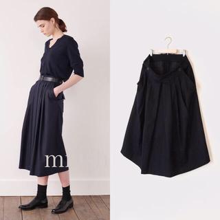 マーガレットハウエル(MARGARET HOWELL)の新型 2019マーガレットハウエル FOX BROTHERS プリーツスカート(ひざ丈スカート)