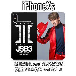 サンダイメジェイソウルブラザーズ(三代目 J Soul Brothers)の小林直己 iPhoneXs 手帳型ケース(iPhoneケース)