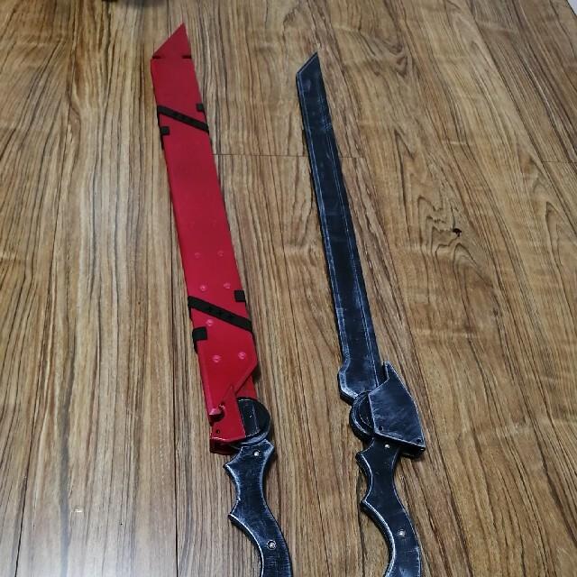 アークナイツ チェン 武器2本セット コスプレ 小道具 エンタメ/ホビーのコスプレ(小道具)の商品写真
