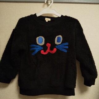 ハッシュアッシュ(HusHush)のHusHusH 110cm モコモコ ネコ? トレーナー(Tシャツ/カットソー)