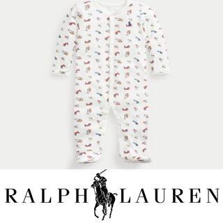 POLO RALPH LAUREN - 【国内完売】ラルフローレン ファーマーポロベア カバーオール ロンパース9M75