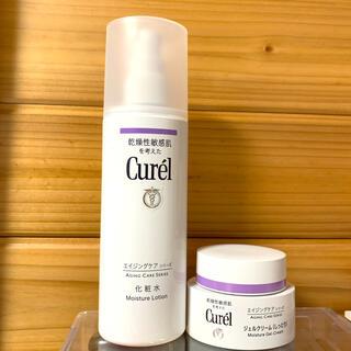 Curel - セット販売✨キュレル エイジングケアシリーズ 化粧水、ジェルクリームしっとり