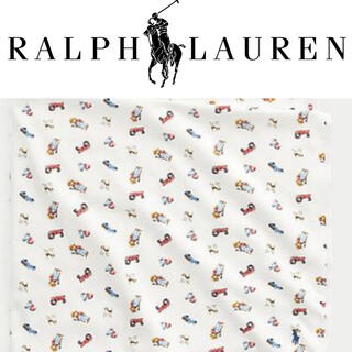 ポロラルフローレン(POLO RALPH LAUREN)のラルフローレン  ファーマーポロベア おくるみ(おくるみ/ブランケット)