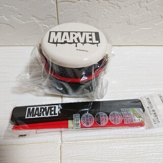 マーベル(MARVEL)のMARVEL マーベル ランチセット お弁当箱 お箸セット(弁当用品)