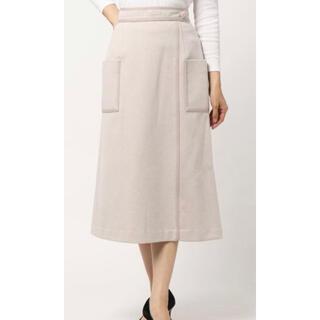 ウィルセレクション(WILLSELECTION)の配色ステッチAラインロングスカート ウィルセレクション(ロングスカート)