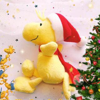 SNOOPY - スヌーピー SNOOPY ぬいぐるみ クリスマス ウッドストック