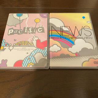 ニュース(NEWS)のNEWS LIVE  DVD 2枚セット(ミュージック)
