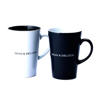 ディーンアンドデルーカ(DEAN & DELUCA)のDEAN & DELUCA ラテマグ Black  & White  (M)(グラス/カップ)