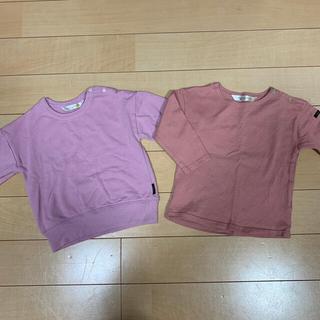 フタフタ(futafuta)の女の子トップス 80,90cm 2点セット(Tシャツ/カットソー)