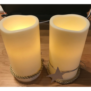 イケア(IKEA)のLEDキャンドル GODAFTON イケア(アロマ/キャンドル)