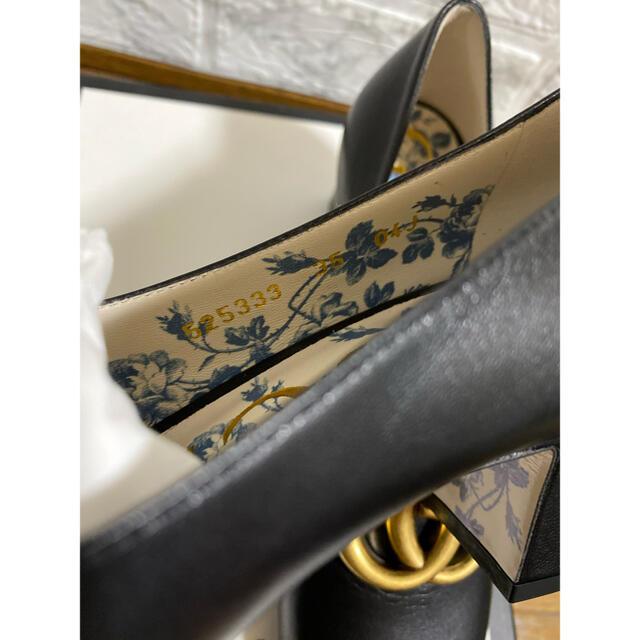 Gucci(グッチ)のGUCCIビットパンプススクエアパンプス花柄 レディースの靴/シューズ(ハイヒール/パンプス)の商品写真