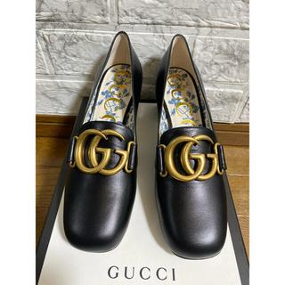 Gucci - GUCCIビットパンプススクエアパンプス花柄