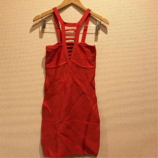 ベベ(BeBe)のBebe ドレス(ミニワンピース)